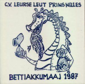 Tegel 1986-87